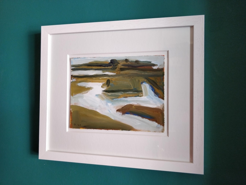 West of Skippers Island (framed)