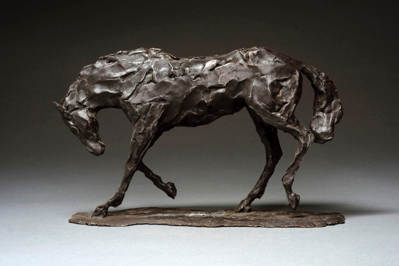Horse Study, after Degas