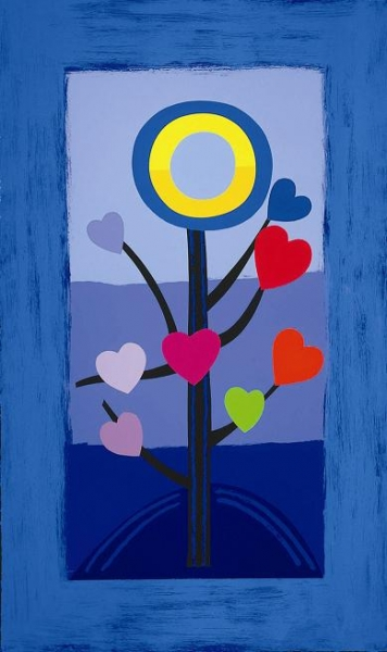 Blue Love Tree