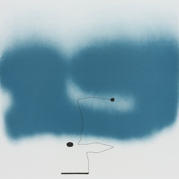 Beyond the Eye II by Victor Pasmore (1908 - 1998)