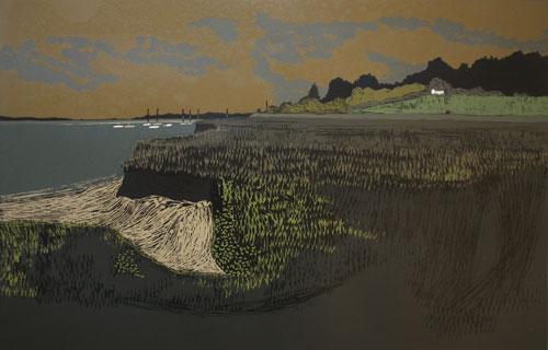 The Island Looking West (Creeksea Series)