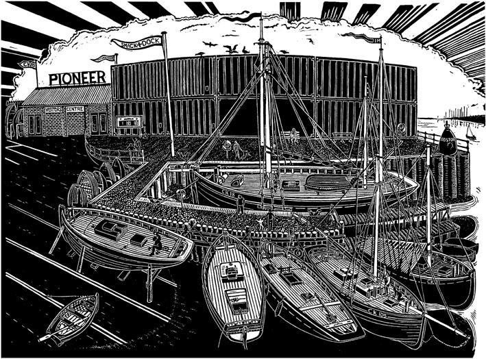 Brightlingsea Smack Dock