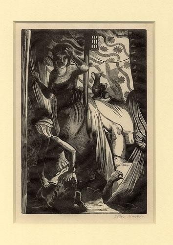Judith by John Nash CBE RA (1893 - 1977)