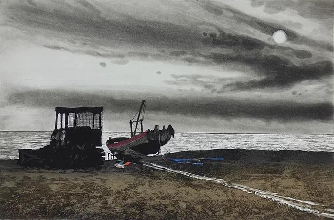 Aldeburgh Beach by Kit Leese