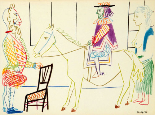 Horse and Rider - La Comedie Humaine 31,1,54..VII