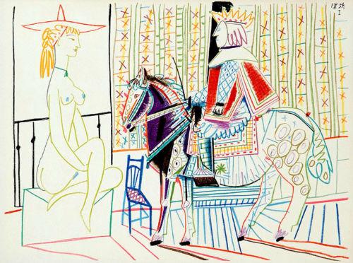 King on Horse - La Comedie Humaine I.II.54.1