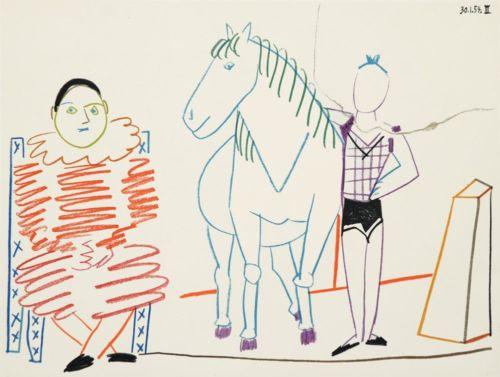 Clown and Rider - La Comedie Humain