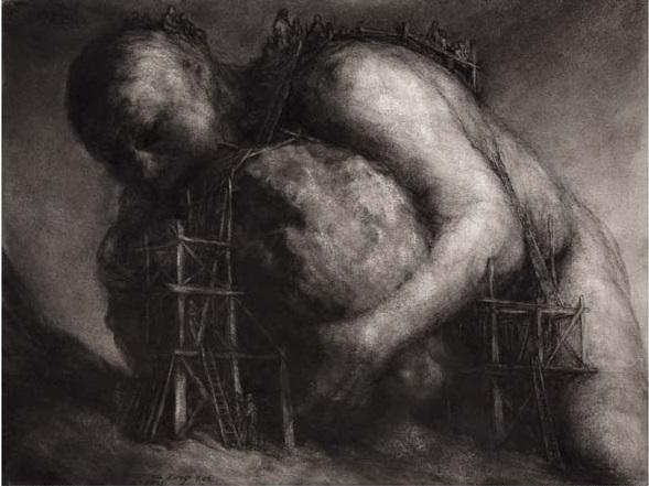 Sisyphus and Rock